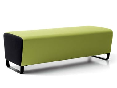 Upholstered modular bench CIRCUIT | Bench