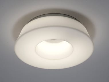 LED polyethylene ceiling lamp CIRCULAR POL | Ceiling lamp