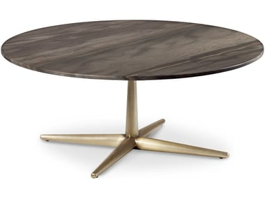 Low wooden coffee table for living room CITY | Low coffee table