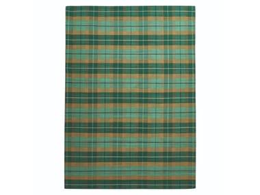 Handmade striped wool rug CLAN