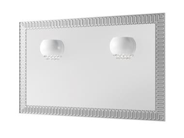 Espelho com luzes integradas de parede para banheiro CLARUS