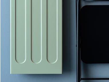Vertical Livingstone® panel radiator CLASS