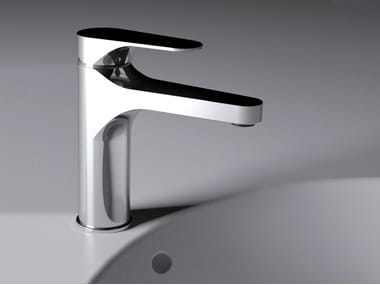 Countertop single handle washbasin mixer without waste CLASS LINE   Washbasin mixer