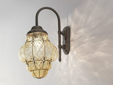 Murano glass outdoor wall lamp CLASSIC EB 101