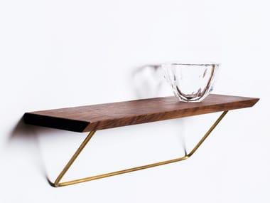 Wooden wall shelf CLASSIC SHELF
