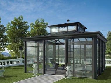 Glass and aluminium Winter garden CLASSICO