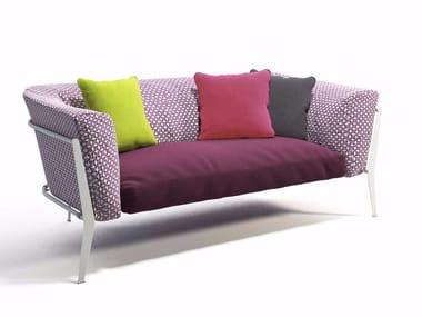 2 seater technical fabric sofa CLEA