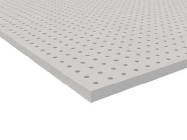Sound insulation and sound absorbing panel for false ceiling CLEANEO SK
