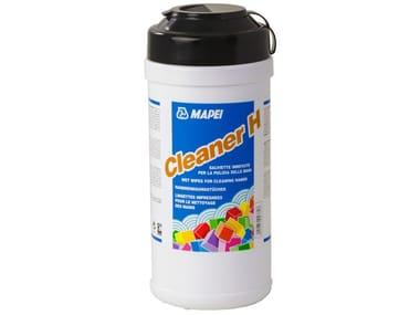 Salviette imbevute per la pulizia delle mani CLEANER H