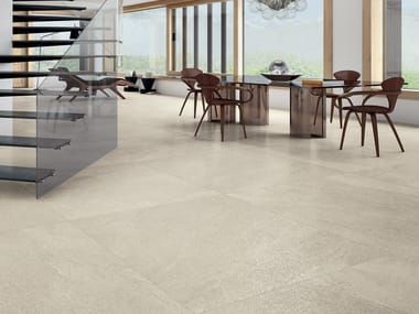 Laminated stoneware wall/floor tiles with stone effect CLEAR