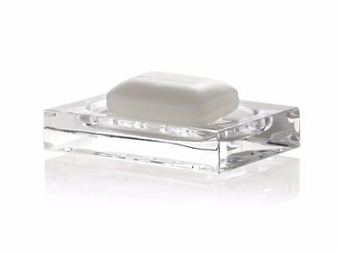 Countertop soap dish CLEAR SOAP DISH