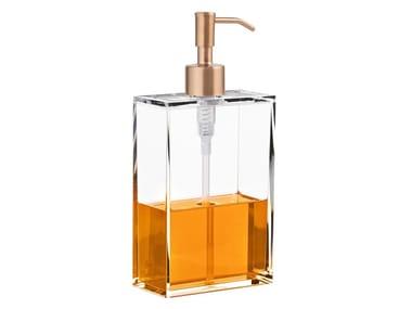 Acrylic liquid soap dispenser CLEAR SOAP