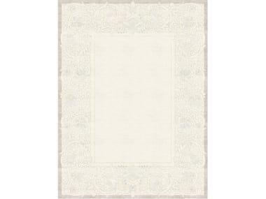 Handmade rectangular rug CLEMENTINE GRIS