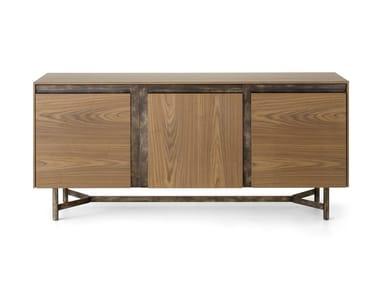 Wooden sideboard with three doors CLIK L450/3   Sideboard