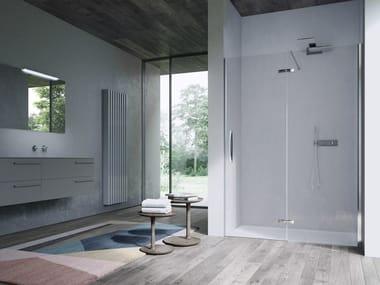 Scharnier für Duschkabinen aus Metall CLIP | Scharnier für Duschkabinen