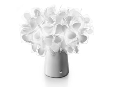 LED cordless Cristalflex® table lamp CLIZIA BATTERY