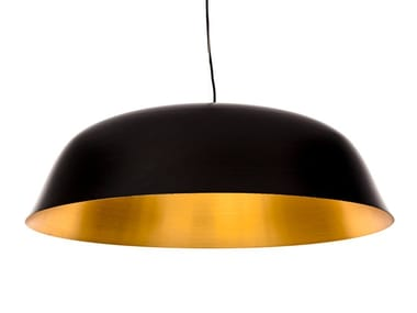 Direct light aluminium pendant lamp CLOCHE THREE