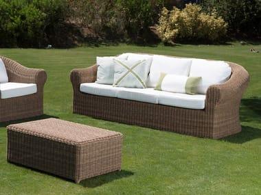3 seater garden sofa CLOE | Garden sofa