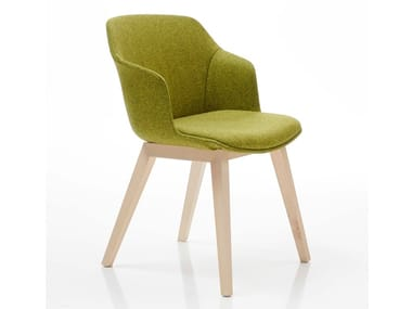 Upholstered fabric chair CLOP | Upholstered chair