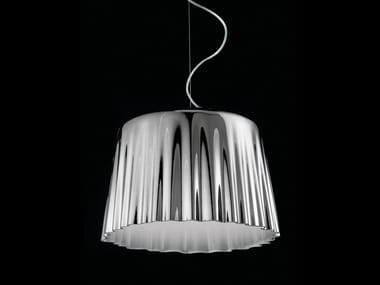 Blown glass pendant lamp CLOTH SP