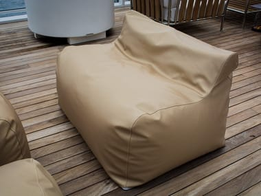 Eco-leather garden sofa CLOUD | Garden sofa