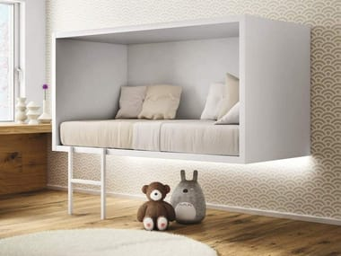 Suspended kids single bed CLOUD