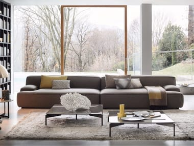 Sectional fabric sofa CLOUD