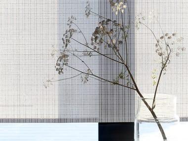 Paper yarn panel curtain CLOUD