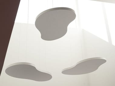 Acoustic ceiling clouds CLOUDAKUSTIK