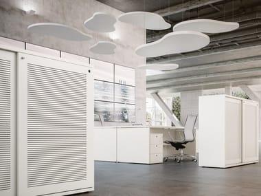 Acoustic ceiling clouds CLOUDAKUSTIK