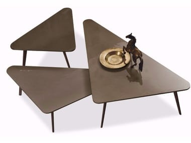 Triangular coffee table CLOVER
