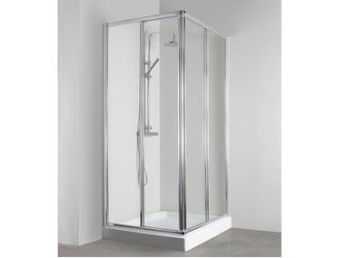 Box doccia angolare con porta scorrevole CO-ASCR + CO-ASCR