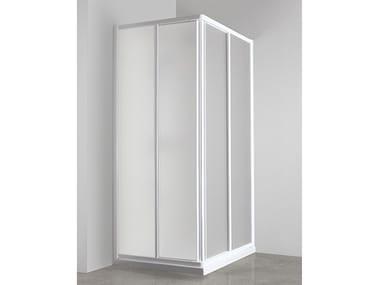 Box doccia angolare con porta scorrevole CO-ASCS