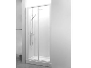 Box doccia a nicchia con porta a soffietto CO-PSO