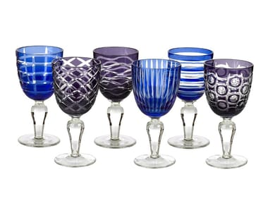 Glass glasses set COBALT | Glasses set