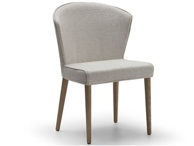 Upholstered fabric chair COCÒ 090 | Chair