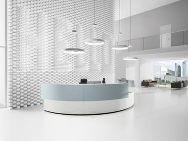 Modular reception system COCKPIT 2.0 | Modular Reception desk
