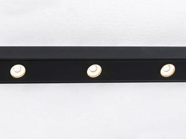 Illuminazione a binario a LED in alluminio verniciato a polvere CODE 6 MAGNETIC