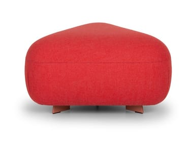 Triangular upholstered pouf CODE | Pouf