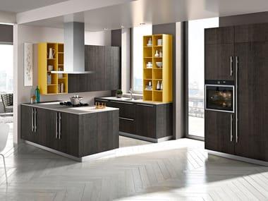 Wooden fitted kitchen CODE | Kitchen