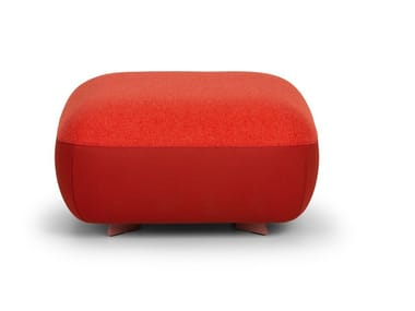 Upholstered square pouf CODE | Square pouf