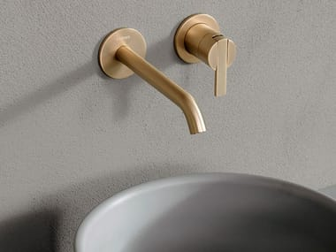 Wall-mounted single handle washbasin tap CODE | Wall-mounted washbasin tap