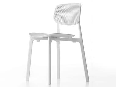 Stackable polypropylene chair COLANDER | Chair