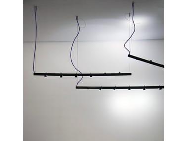 LED aluminium pendant lamp COLIBRÌ | Pendant lamp