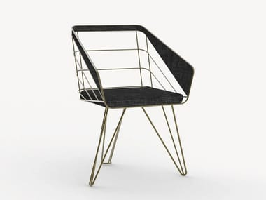 Garden chair with armrests COLLAR