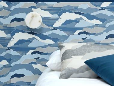 Landscape nonwoven wallpaper COLLINE