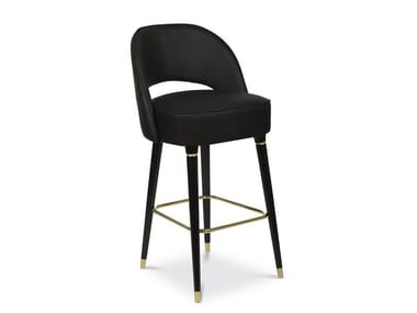 Barstool with footrest COLLINS | Barstool