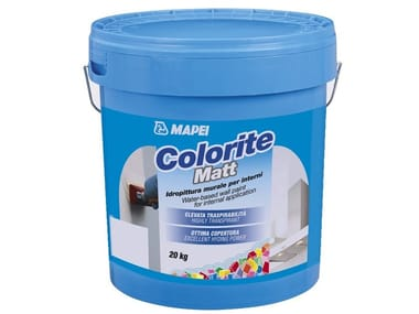 Breathable water-based paint COLORITE MATT