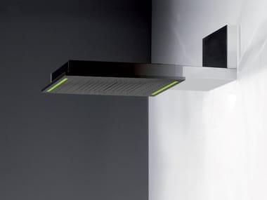 Tête de douche mural avec bras avec éclairage intégré COLOUR | Tête de douche mural