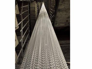 Aluminium chain curtain COLUMNS